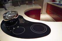 Круглая кухонная столешница