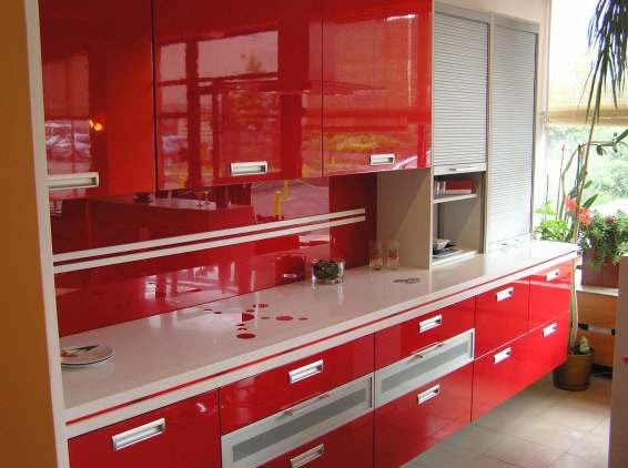 Прямая кухонная столешница